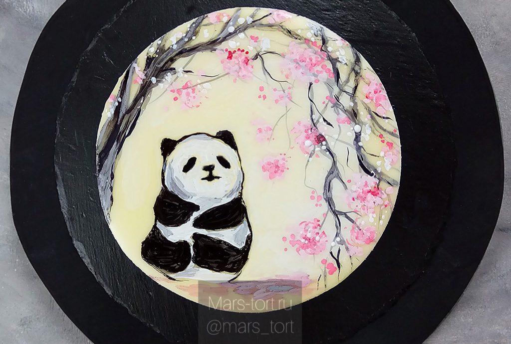 Ганаш для росписи торта