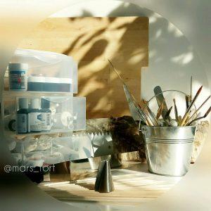 Инструменты для росписи тортов